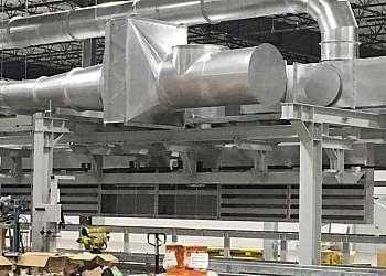 Ventilação e exaustão industrial